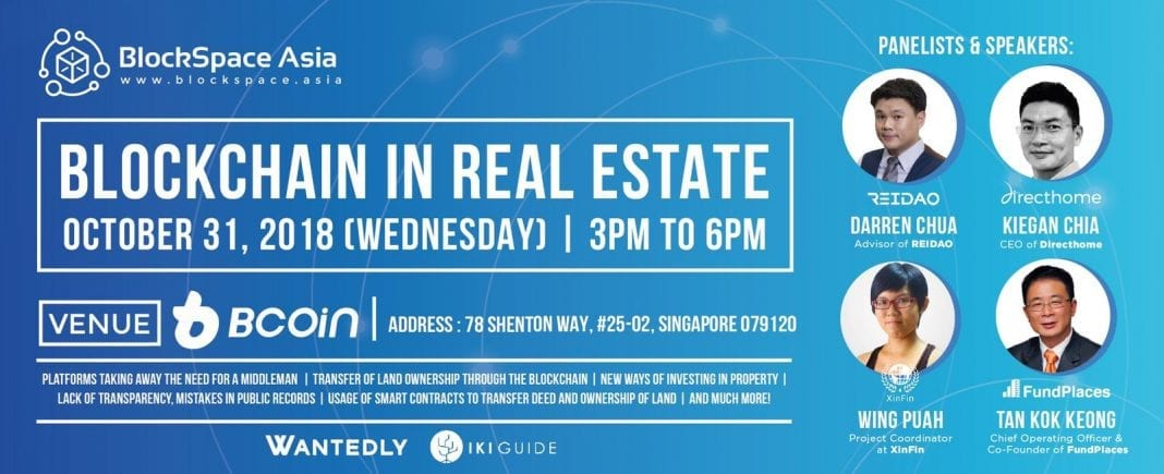 [EVENT TODAY] Blockchain In Real Estate
