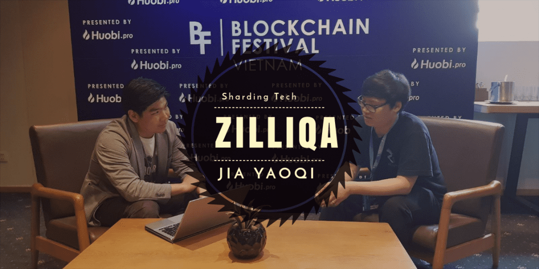 Blockchain Sharding with Yaoqi Jia of Zilliqa [Huobi Blockchain Festival]