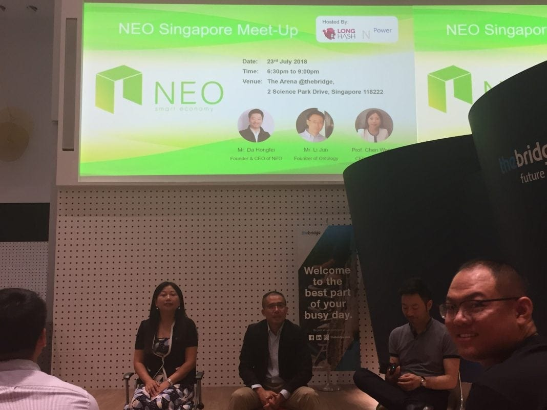 [23/7 NEO update!] From the NEO Singapore Meet-Up!