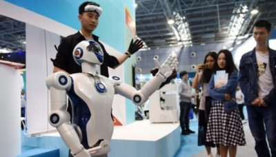 singapore robot
